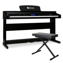 Schubert - piano électrique Midi 88 touches 2 pédales + banc