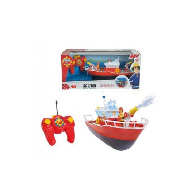 Dickie toys slp sam le pompier rc bateau titan 1 16 pas cher achat vente voitures rc - Bateau sam le pompier ...