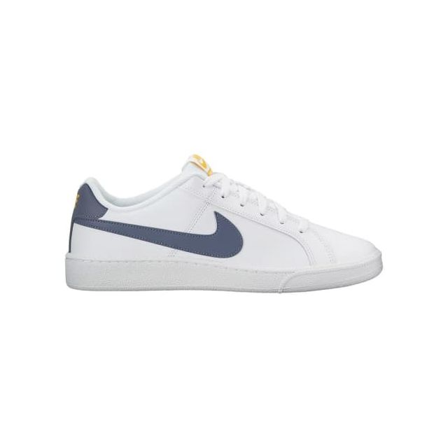 new product 91173 25085 Nike - Chaussures Nike Court Royale blanc bleu jaune