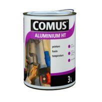 Comus - Peinture Aluminium Haute Température 3L brillante Gris argent - 12889