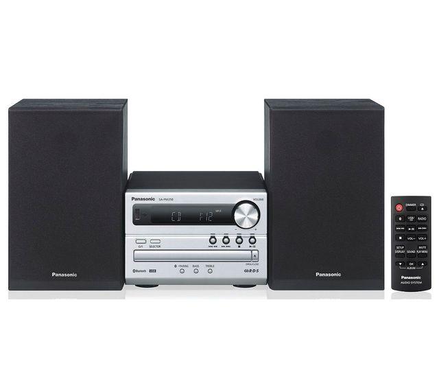 PANASONIC Chaine hifi - PM250 - Noir - Bluetooth - Port USB - Lecteur CD