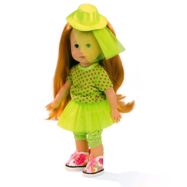 Gotz - Poupée Just Like Me 27 cm   Lucia tenue verte - pas cher ... 89e4fb080bd