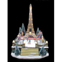 Jja - Tour Eiffel avec décor lumineux et musical