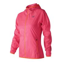 01296ff9d646 New Balance - Veste Windcheater coupe-vent rose femme