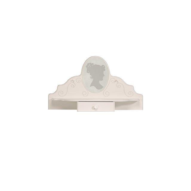 Coiffeuse - laqué blanc