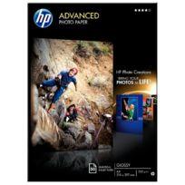 Hp - papier photo a4 brillant 250g q8698a - paquet de 50 feuilles