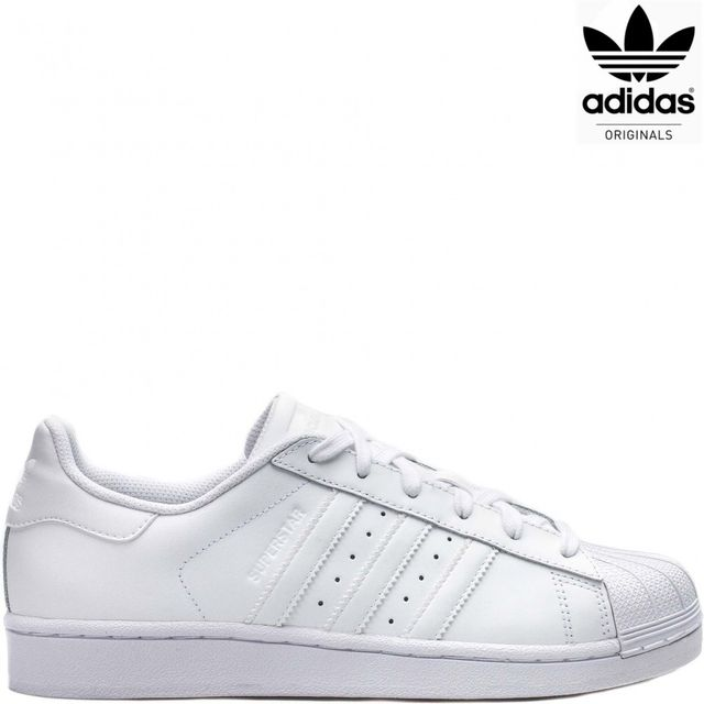 adidas originals superstar baskets blanc b27136