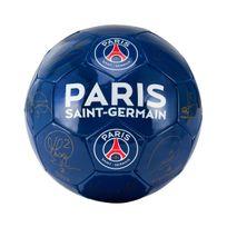 Licence Officielle - Ballon Psg Signatures T.5 Bleu