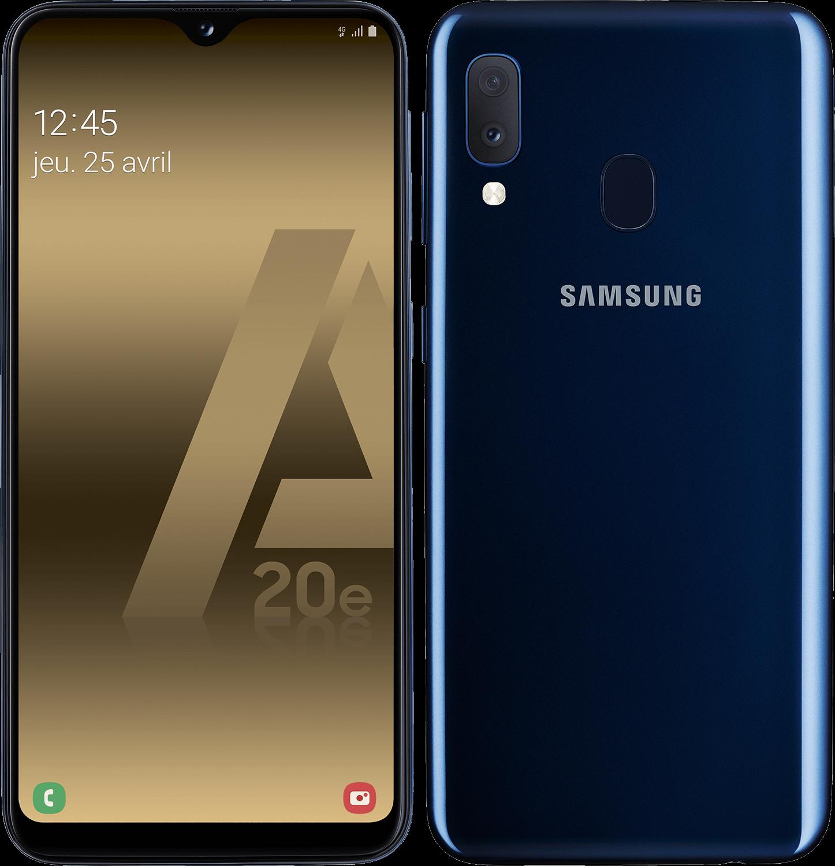 Galaxy A20e - Bleu