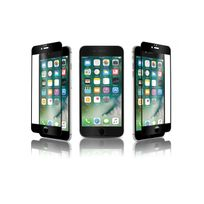 Qdos - verre trempe optiguard glass bord a bord noir iphone 7 plus