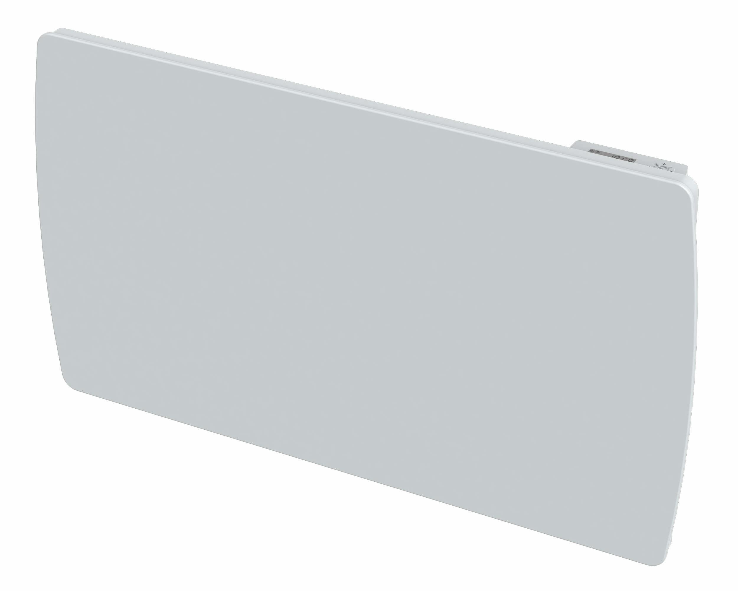 Radiateur inertie verre Blanc FIRE 1500 W