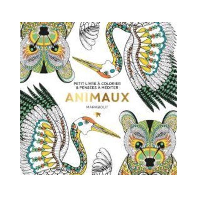 Marabout Le Petit Livre De Coloriage Animaux Pas Cher