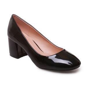 escarpin talon carre,ESCARPIN Chaussures 脿 talon femme