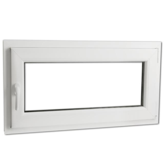 Rocambolesk - Superbe Fenêtre oscillo-battant en Pvc Poignée sur la gauche 900 x 500 mm Neuf