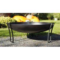 Cook - Maison De La Tendance - Brasero Pan en acier noir Ø: 80cm