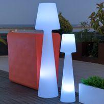 New Garden - Lampadaire extérieur Led multicolore sans fil en polyéthylène Lola - 165cm
