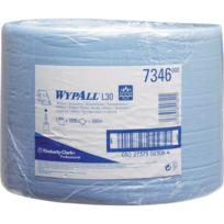 Kimberly Clark - Wypall L30 Essuie tout 23,5x38cm bleu 1000 feuilles