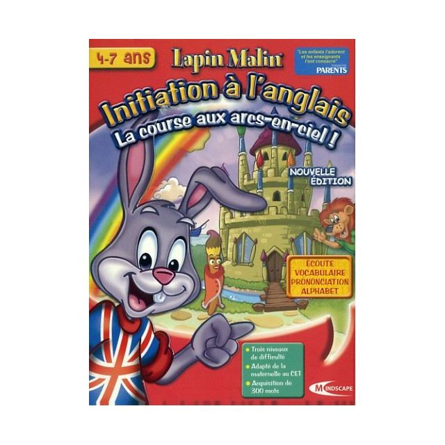 Mindscape lapin malin initiation l 39 anglais la course - Lapin malin gratuit ...