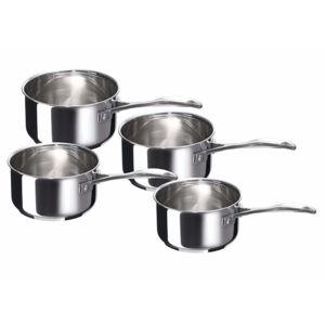BEKA - série de 4 casseroles inox 14/16/18/20cm - 12066984