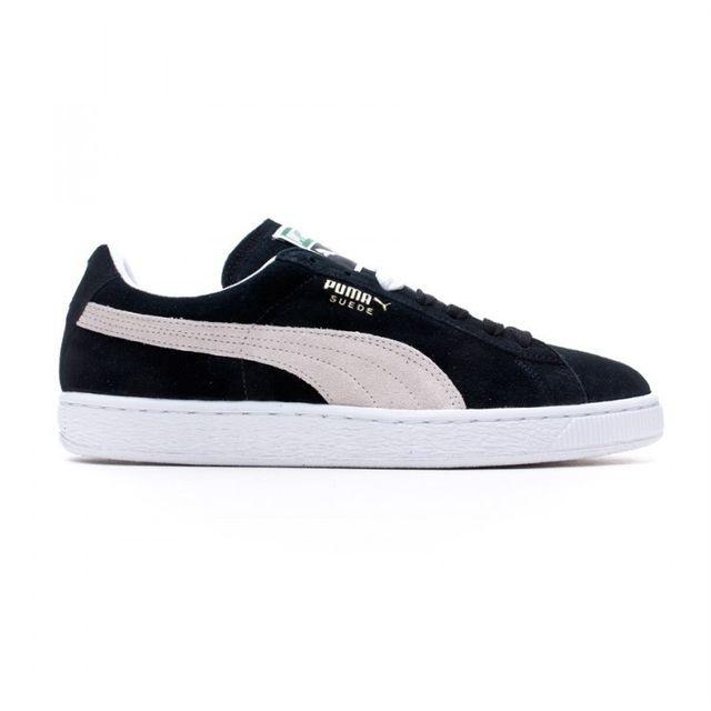 Puma - Suede Classic + Black-White