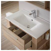 meuble salle bain chene Résultat Supérieur 15 Incroyable Ensemble Meuble Salle De Bain Image 2017 Hjr2
