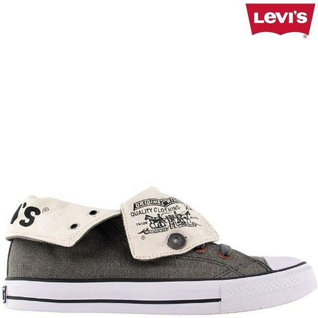 Levi's - Horse Hi Top Gris converse, haute, all star, gris ...