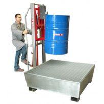 FIMM - ÉLÉVATEUR À FÛTS 300 KG pour fûts métalliques et plastiques à rebord- 840008471