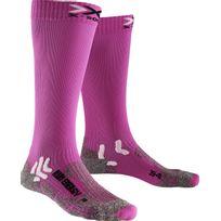 X-socks - Run Energizer - Chaussettes course à pied - rose