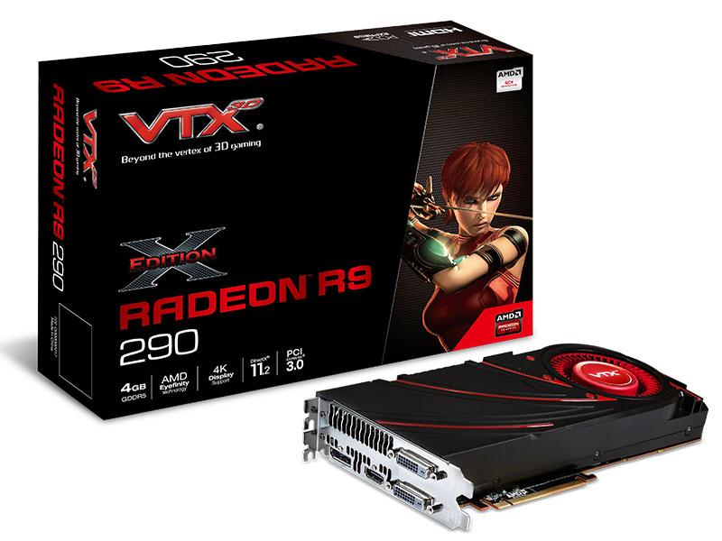 Carte graphique VXR9 290 4GBD5-MDHX - Radeon R9 290 - 4096 Mo - PCI-E