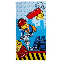 Character World - Serviette de bain Lego City Construction