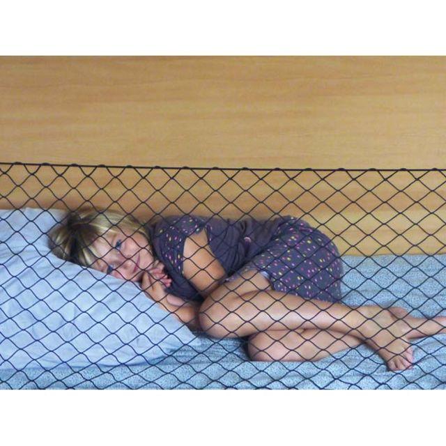 filet barri re anti chute pas cher achat vente linge. Black Bedroom Furniture Sets. Home Design Ideas