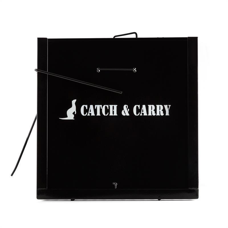 Catch & Carry M Piège à rongeurs 20x20x52cm 2 mm Acier - noir