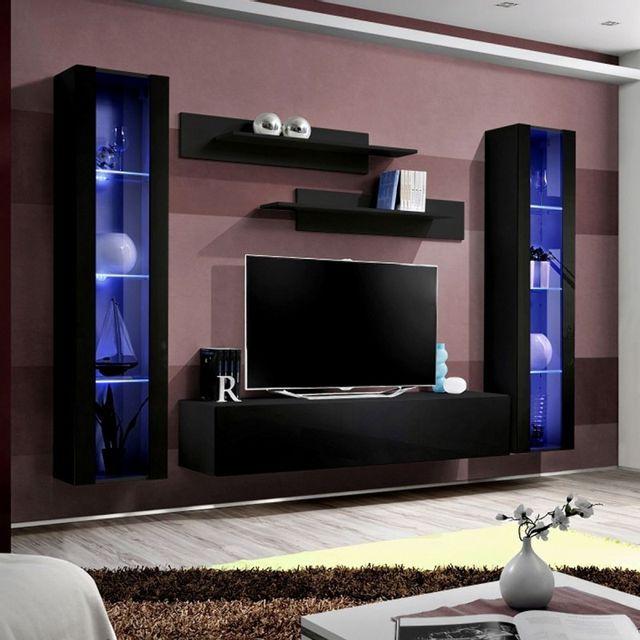 100% authentique 3af6b bc59e Meuble Tv Mural Design