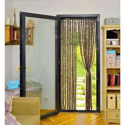 ose rideau de porte chenille anti mouche 90 x 220 cm. Black Bedroom Furniture Sets. Home Design Ideas