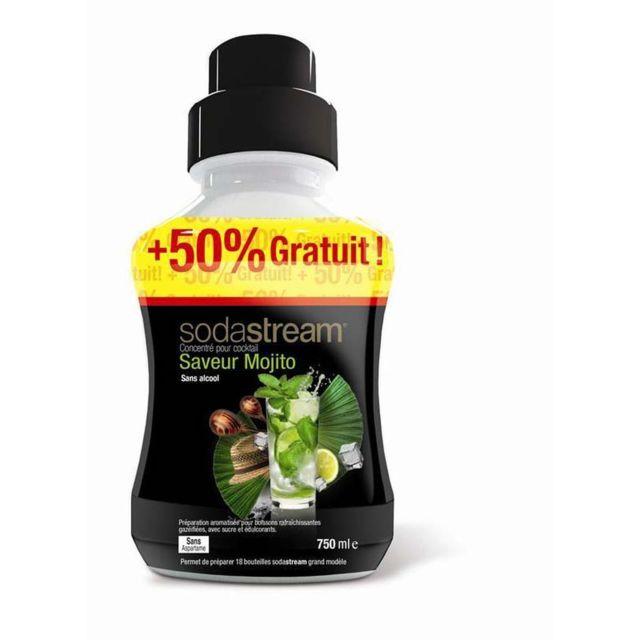 SODASTREAM Sirop pour machine à gazéifier - concentre Mojito sans alcool 750 ml - 30011016