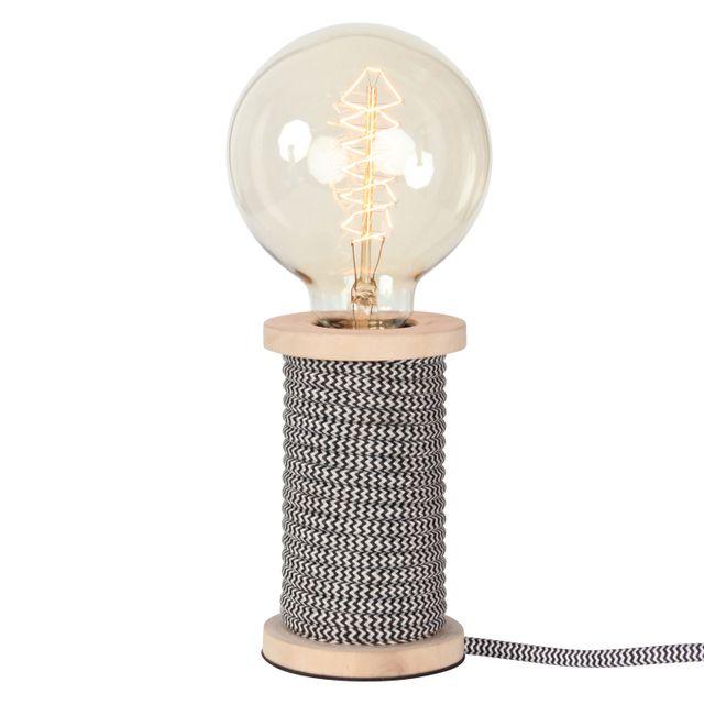IntÉRIEUR Discount Lampe Bobino noir