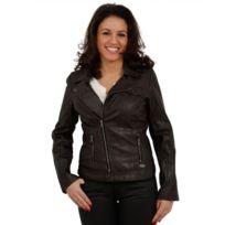 Veste en cuir kaporal pour femme