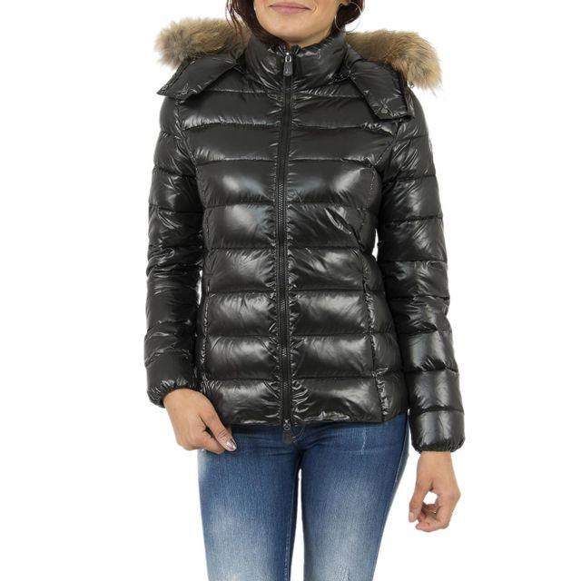 Jott - Doudounes doudoune luxe grand froid noir - pas cher Achat   Vente  Blouson femme - RueDuCommerce 6d9433a73496