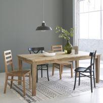 bois dessus bois dessous table en bois de teck recycl avec rallonges 8 12
