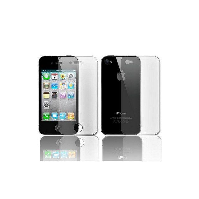 Techexpert - Films de protection écran invisible Avant + Arrière iPhone 4 4S