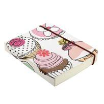 Caroline Gardner - Petit Carnet ÉPAIS Motif Cupcake