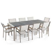 Table jardin aluminium granit noir - catalogue 2019 - [RueDuCommerce ...