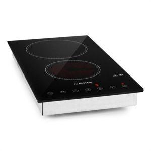 klarstein varicook domino double plaque de cuisson vitroc ramique 3000w achat plaque de. Black Bedroom Furniture Sets. Home Design Ideas