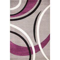 Tapis salon violet - Achat Tapis salon violet - Rue du Commerce