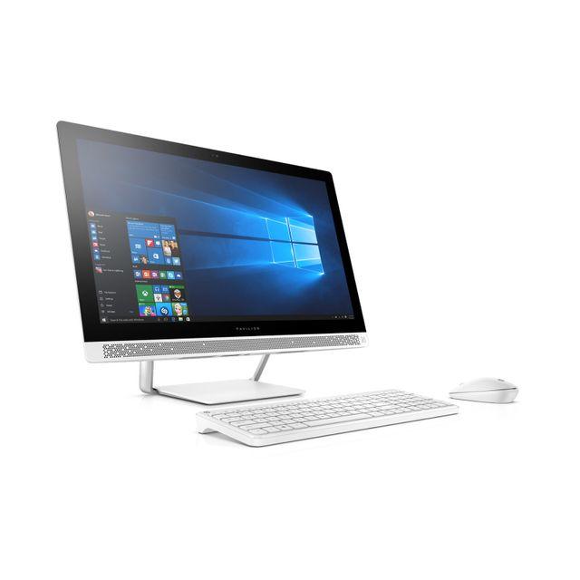 Achat hp pavilion 27 a103nf blanc ordinateur de bureau intel core i7 - Ordinateur de bureau intel core i7 ...
