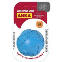 Anka - Balle caoutchouc dure Extrabounce pour chien Taille L Diamètre 9 cm