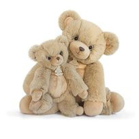 Histoire d'ours - Softy - Peluche Ours miel 45 cm