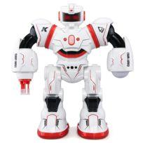 Wewoo - Robot rouge Jjr / C R3 Cady Will Gesture Capteur de Contrôle Intelligent Combat Rc Dancing Jouet avec Lumière Led, Trois Mode: Télécommande, de Gestes, Jeu Tactile