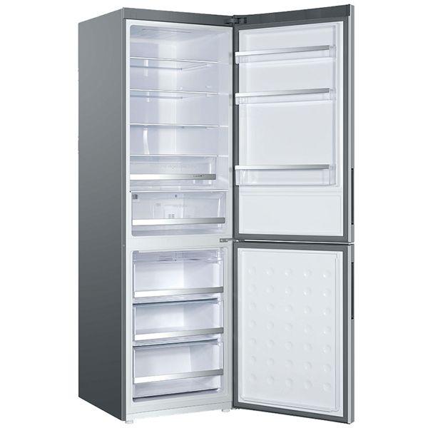 HAIER - réfrigérateur combiné 60cm 352l a+ no frost silver - c2fe636csj