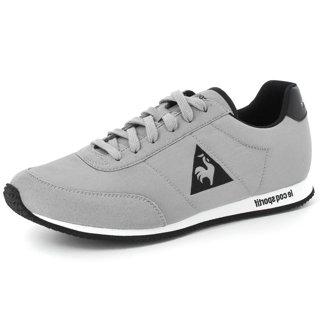 15a5a1423bd6 Coq Homme Mode Racerone Sportif Gris Sneakers Nylon Chaussures Le Tq7AUdwA